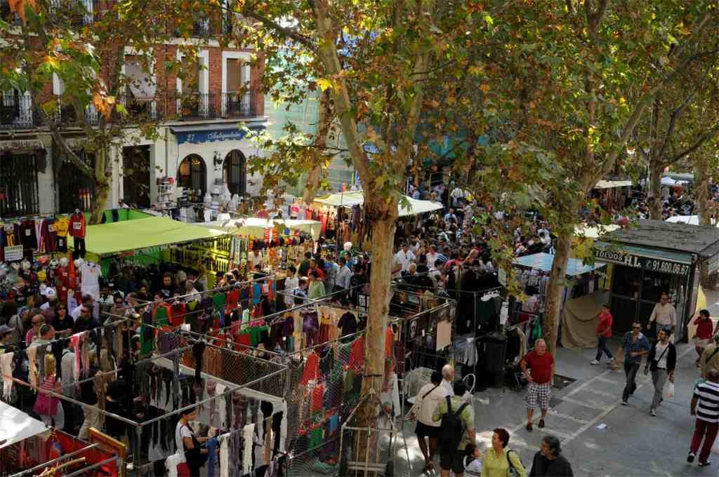 Рынок в Мадриде