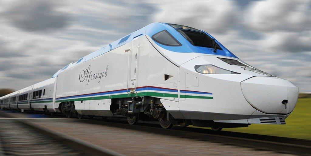 Узбекский поезд «Афросиаб»