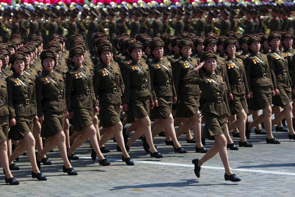 Женщины в армии Кореи