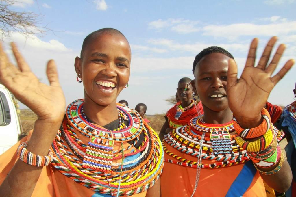 Приветствие в Африке