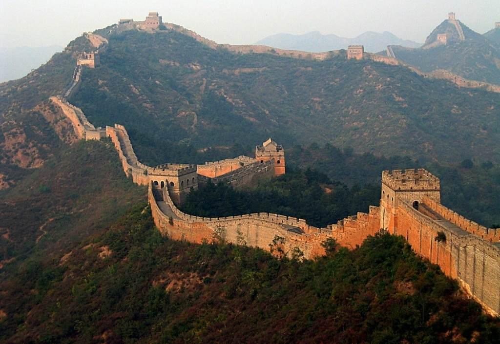 Стена в Китае