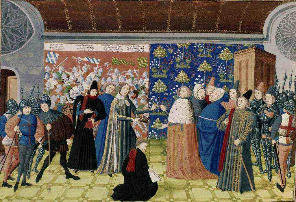 Ужасы брака в средние века