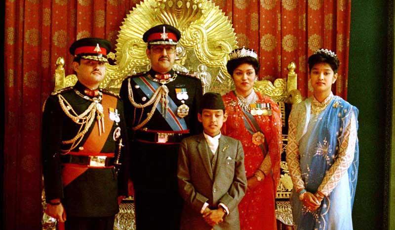 как уничтожили королевскую семью в Непале
