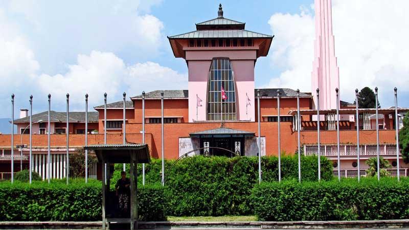 королевская резиденция Непал