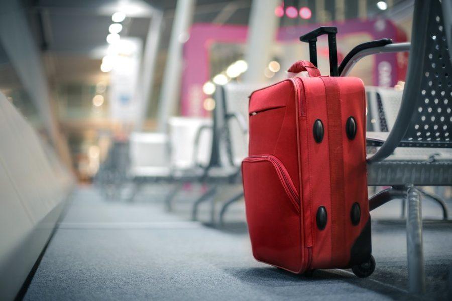 Купить чемодан в аэропорту