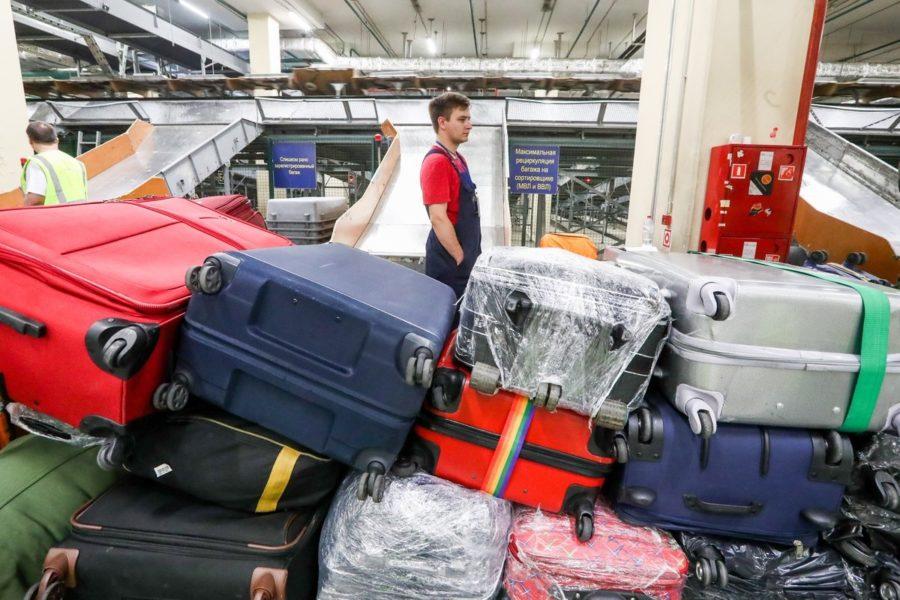Невостребованный багаж в аэропорту