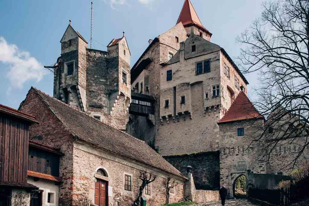 Пернштейн старинный замок со своим привидением