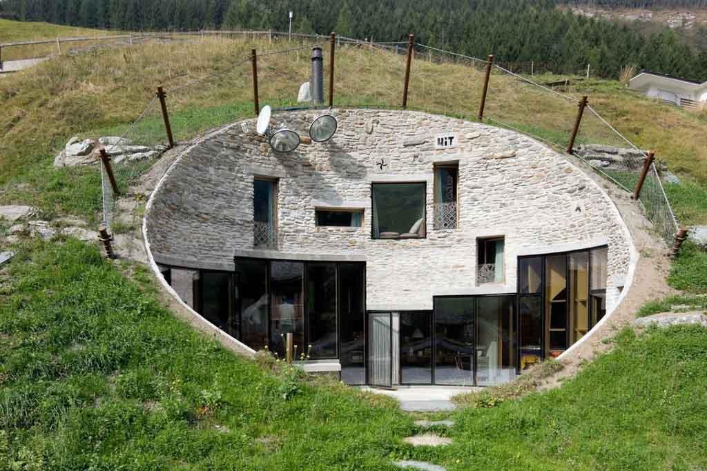В Швейцарии подземная гостиница