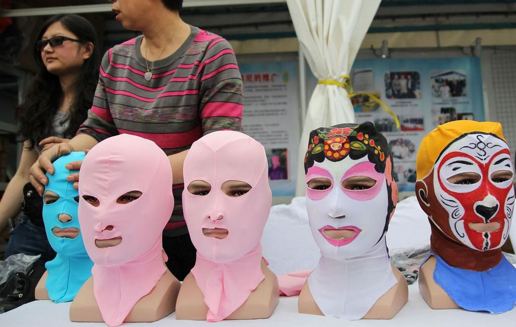 Современная китайская мода - фэйскини