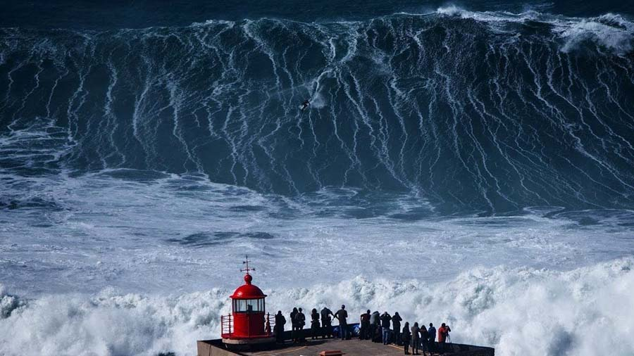 Побережье с самыми высокими волнами