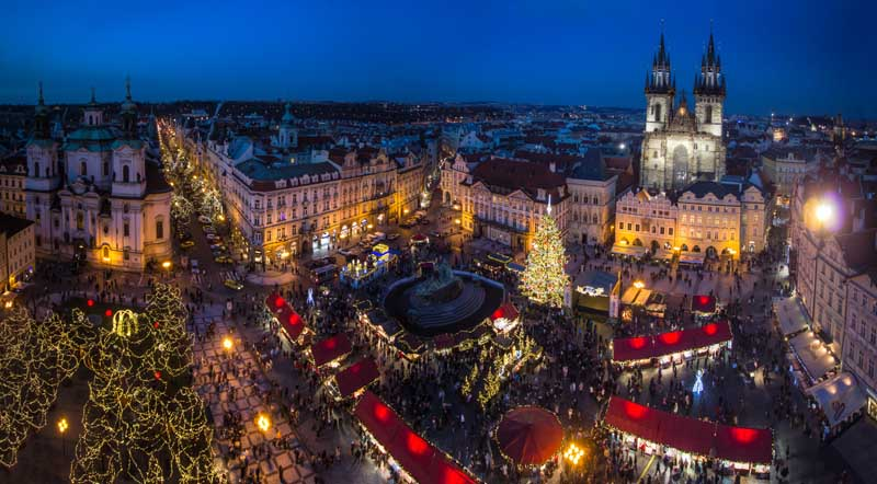 рождественская распродажа Чехия