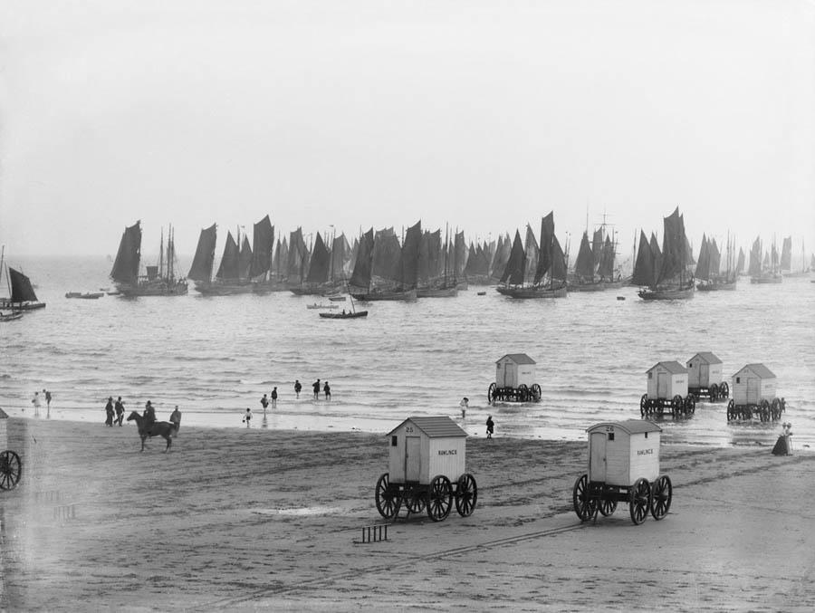 Сколько просуществовали купальные машины