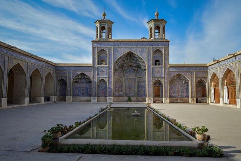 мечеть Насир-аль-Мульк снаружи