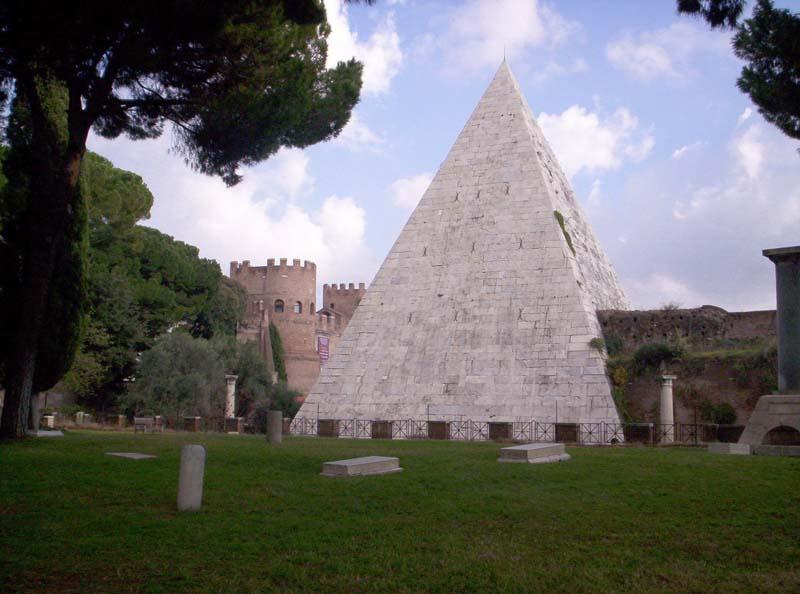 Мистика пирамиды Цестия