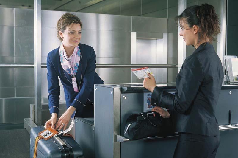 Обслуживание пассажиров в аэропорту