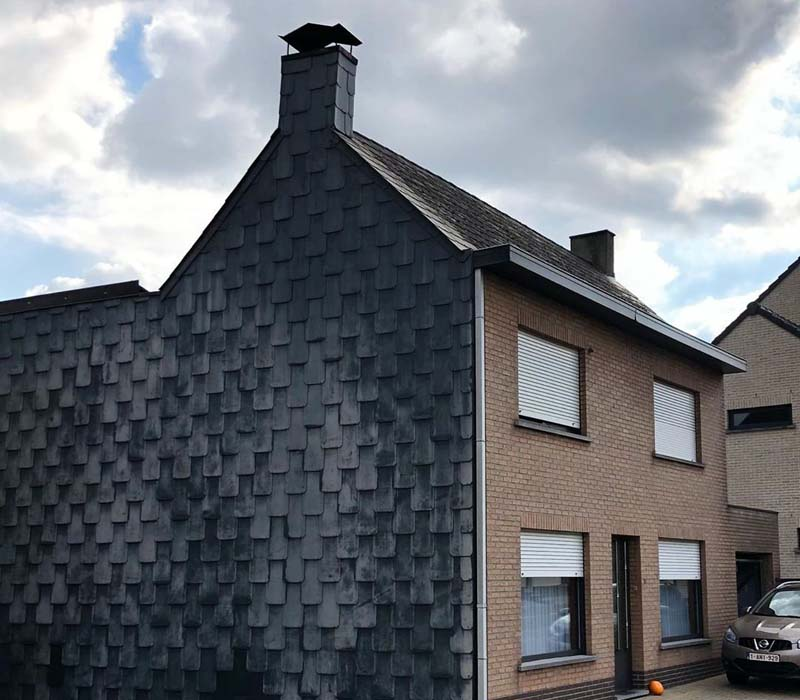 Гигантские потеки с крыши