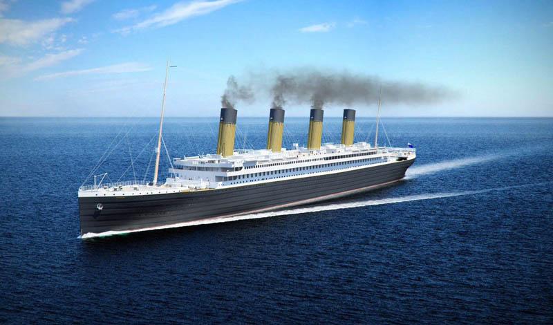 Как строят «Титаник №2»