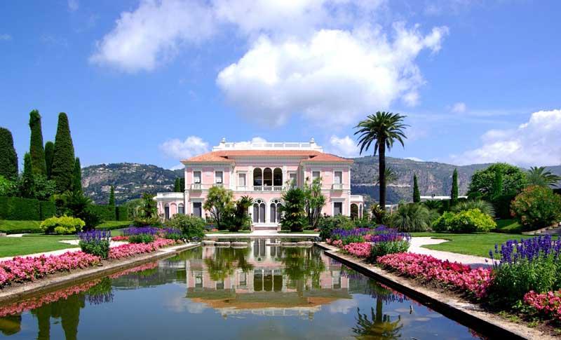 Дом-музей Беатрис Ротшильд во Франции