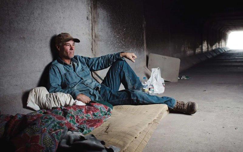 В каких условиях живут бездомные