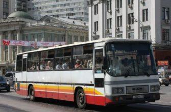 Автобус 62 к в Москве