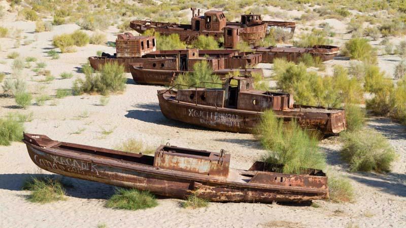 Тайна, отрывшаяся после обмеления Аральского моря