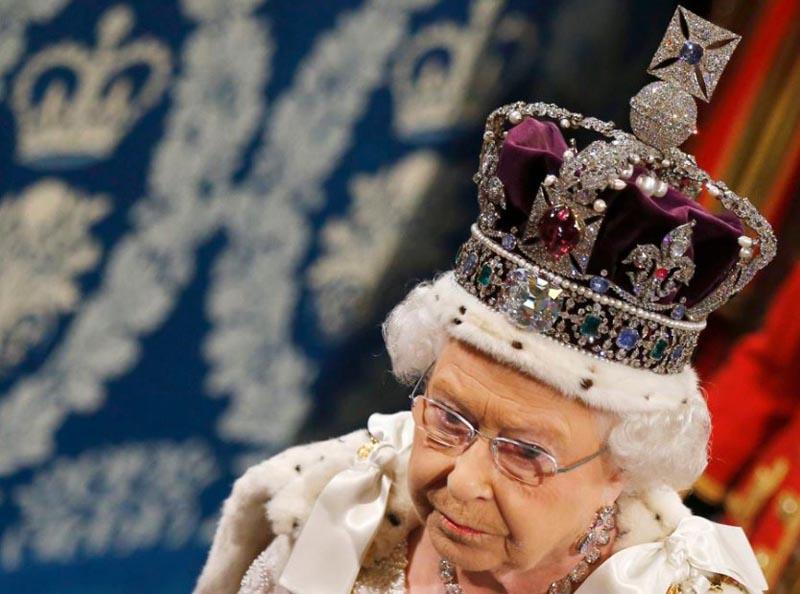 Корона и другие символы власти Великобритании