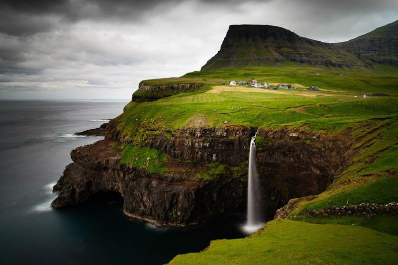 """""""Живые"""" зеленые крыши — визитка Фарерских островов"""