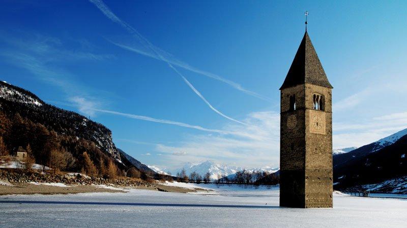 Скрытый город на озере Резия