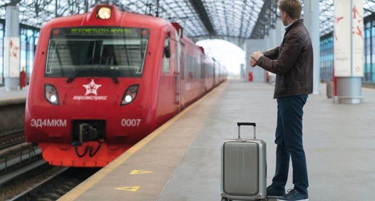 На Павелецком вокзале платформа Аэроэкспресса