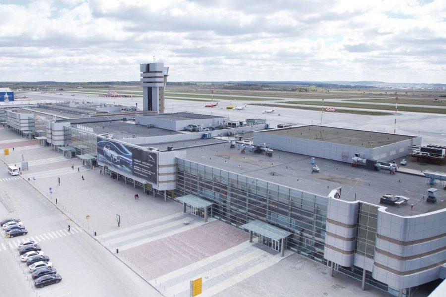 Аэропорт Кольцово в Екатеринбурге