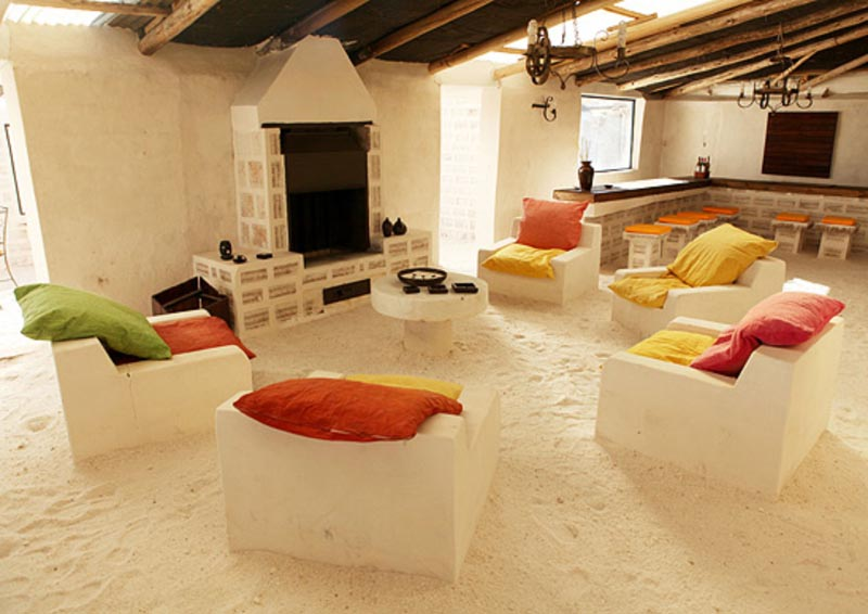 Как выглядят боливийские отели из соли