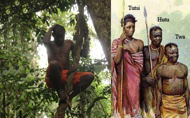 Что представляют собой люди из племени тва