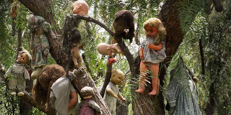 Остров кукол В Мехико