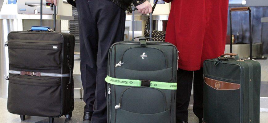 Вес чемодана в аэропорту