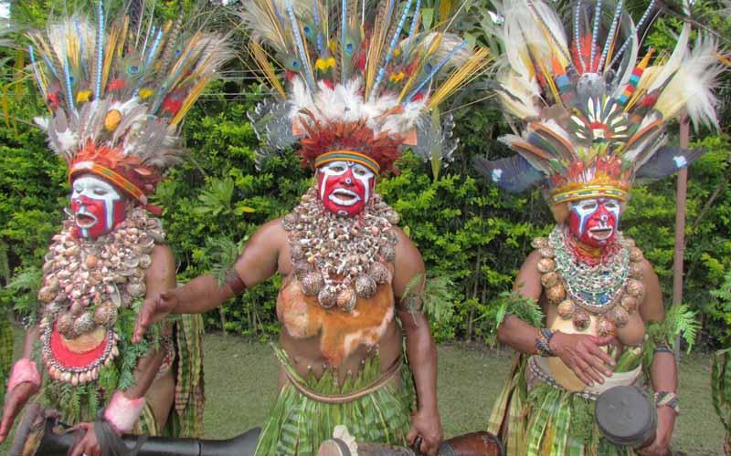 население на на Папуа-Новой Гвинеи