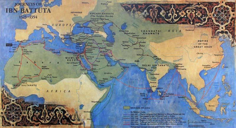 Где побывал путешественник Ибн Баттута