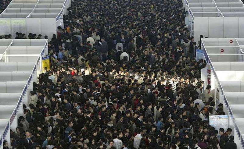 Яркие примеры перенаселенности в Китае