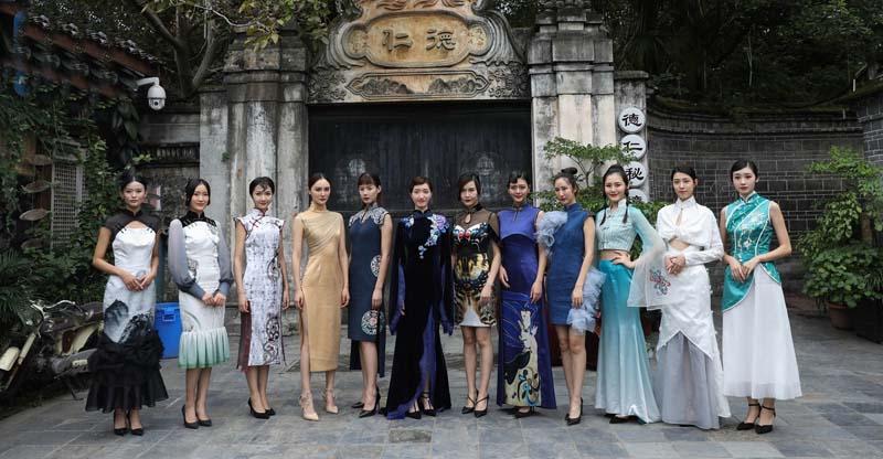 ципао детали китайских костюмов