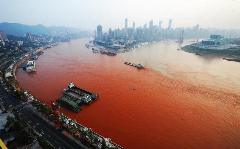 Экологическое бедствие реки Янцзы