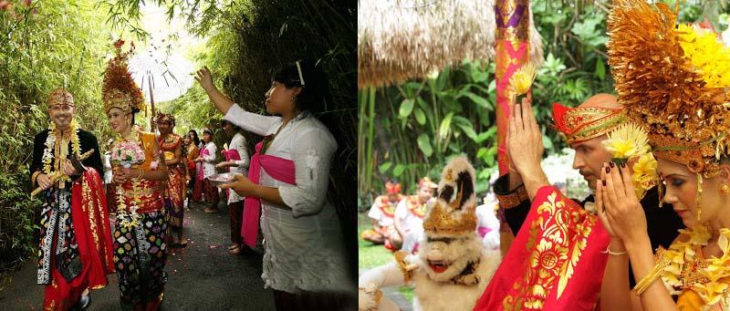 свадьба в индонезии