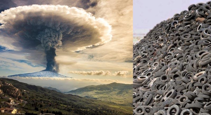 Оливер Бикар три года носил шины к вулкану