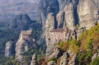 Где находятся парящие в воздухе монастыри