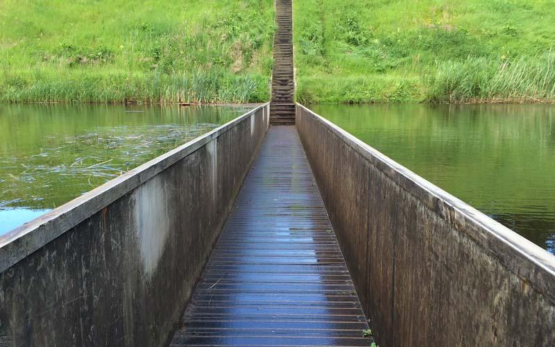 где располагается мост Моисея