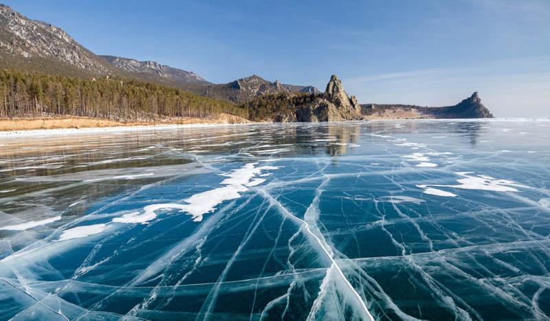 Откуда взялись кольца на поверхности Байкала