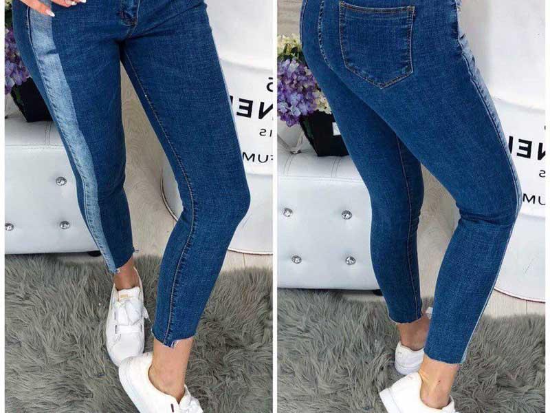 Табу на джинсы синего цвета