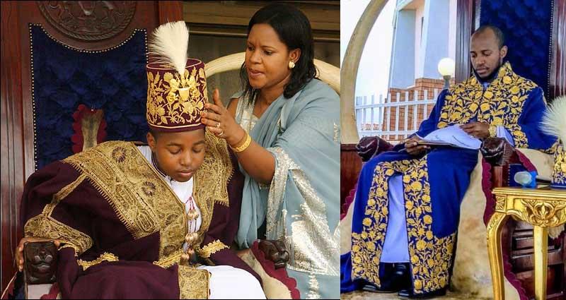Ойо правит в Королевстве Торо в Уганде.