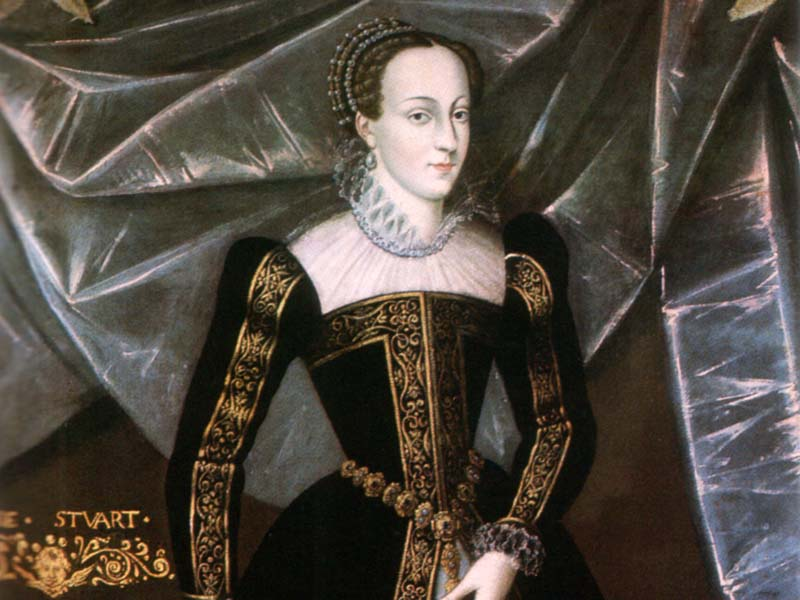 королева Шотландии Мария,