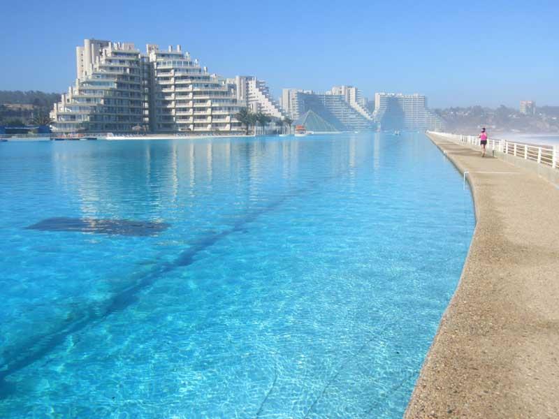 Самый большой бассейн в мире, расположенный в Чили