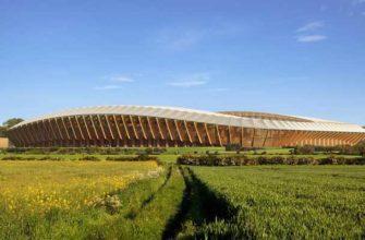 В Англии построят эко-стадион для футболистов-веганов