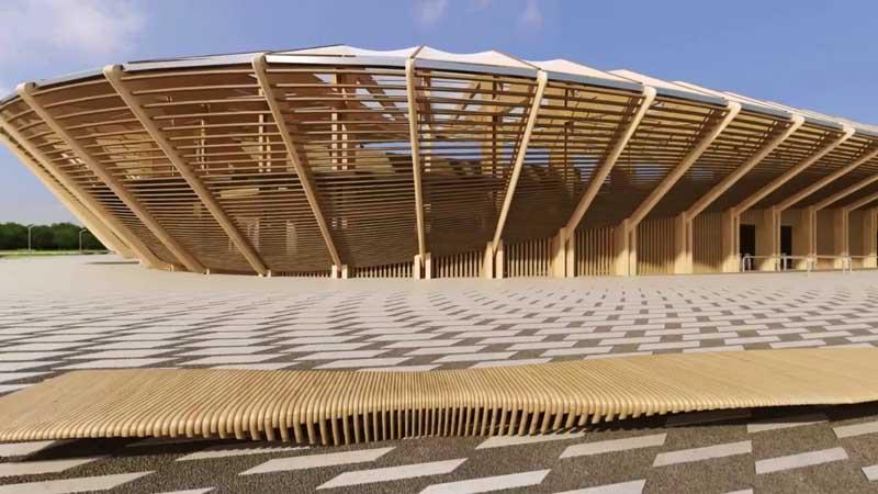самый экологичный в мире стадион